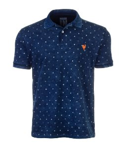Polo Masculina Premium Made in Mato Multilavagens Poá