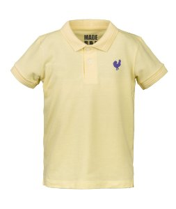 Camisa Polo Infantil Made in Mato Amarela