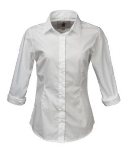 Camisa Made in Mato Feminina Branca Slim