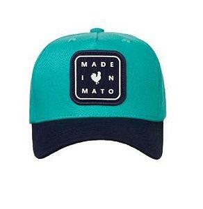 Boné Made in Mato Trucker Icon Azul