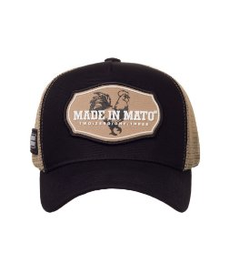 Boné Made in Mato Trucker Gold