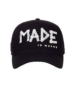 Boné Made in Mato Black Tape