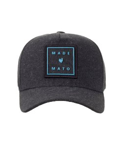 Boné Made in Mato Frame Grafite Snapback