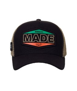 Boné Made in Mato Trucker Vintage Preto