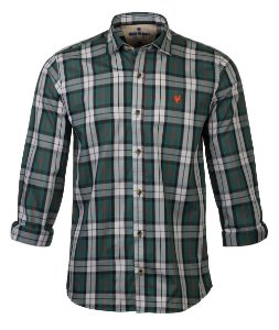 Camisa Made In Mato Manga Longa Xadrez Verde