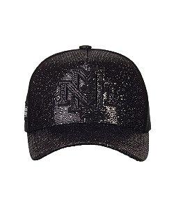 Boné Made in Mato Total Black Glitter