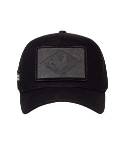 Boné Made in Mato Trucker Preto Zil