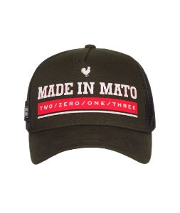 Boné Made in Mato Trucker New Green