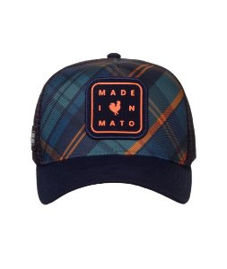 Boné Made um Mato Trucker Dark Chess