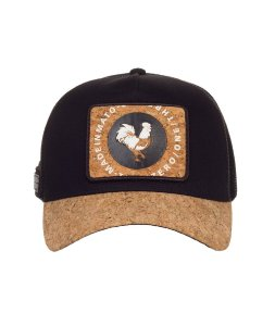 Boné Made in Mato Trucker Rooster Cortiça