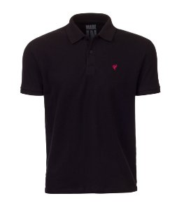 Polo Made in Mato Masculina Preta