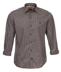 Camisa Made in Mato Masculina Xadrez Mix Chumbo