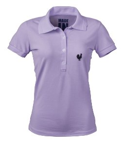 Polo Made in Mato Feminina Lilás