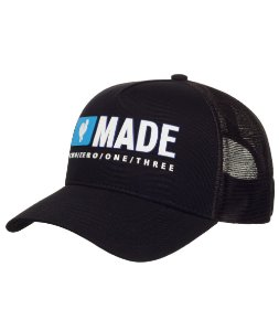 Boné Made in Mato Trucker New Blue Rooster