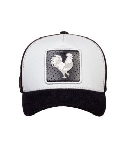 Boné Made in Mato Trucker Rooster Preto