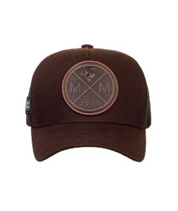 Boné Made in Mato Trucker Icon Brown