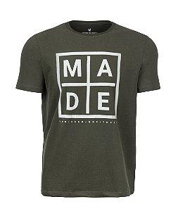 Camiseta Made in Mato Green Chess