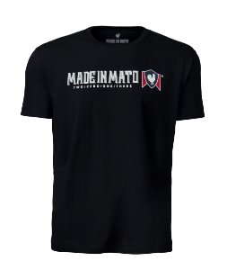 Camiseta Made in Mato Lusa Black