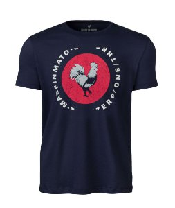 Camiseta Made in Mato Rooster Marinho