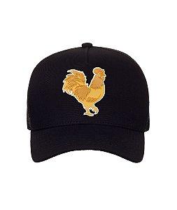 Boné Made in Mato Rooster Dourado