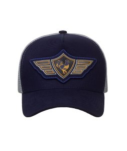 Boné Made in Mato Trucker Wings Blue