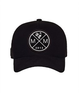BONE TRUCKER MM BLACK IN BLACK