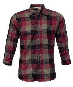 Camisa Masculina Hame Vermelho