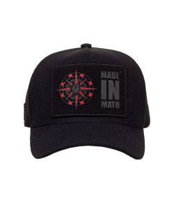 Bone Trucker Wind Rose Black