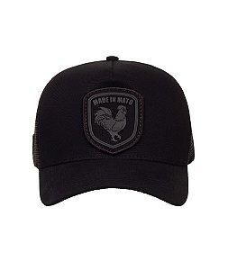 Bone Trucker Shild Black in Black