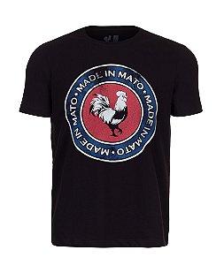 Camiseta Estampada Made in Mato Rooster
