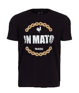 Camiseta Estampada Made in Mato Corrente Preto