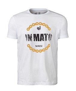 Camiseta Estampada Made in Mato Corrente Branco