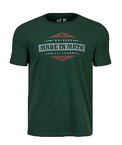 Camiseta Estampada Made in Mato Verde