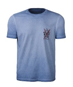 CAMISETA MASCULINA MOHAWK ROCK ON STONE ROYAL