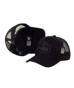 Bone Made in Mato Trucker Made Black