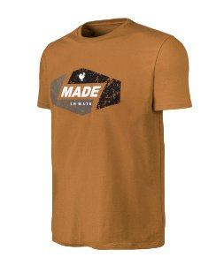 Camiseta Estampada Made in Mato Style Marrom