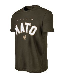 Camiseta Estampada Made in Mato Verde Musgo