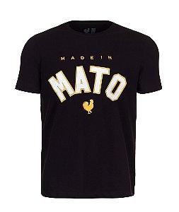 Camiseta Estampada Made in Mato Preta