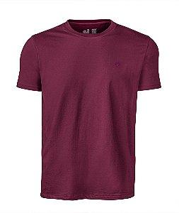 Camiseta Básica Made in Mato Bordô