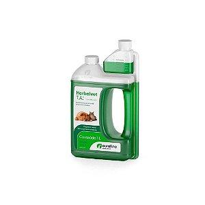 Desinfetante Bactericida Herbalvet T.A 1L - Ouro Fino