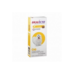 Bravecto Comprimido 2Kg a 4,5Kg - MSD - VAL:MAI/22