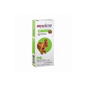 Bravecto Comprimido 10Kg a 20Kg - MSD - VAL:JUL/22 + BRINDE!