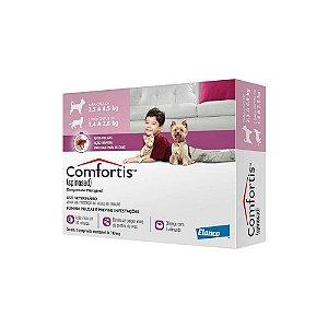 Antipulgas Comfortis 140mg - Caes 2,3 a 4,5kg e Gatos 1,4 a 2,8kg - Elanco