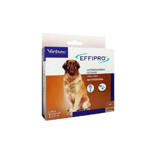 Effipro Antipulgas e Carrapatos 40Kg a 60Kg - Virbac