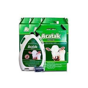 Kit Acatak Pour On 5L (04 unidades) - Novartis