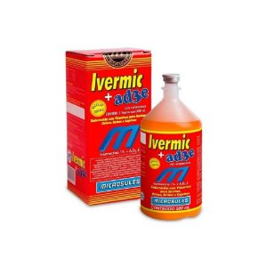 Ivermic+Ad3E Ivermectina e Vitaminas 500mL - Microsules
