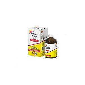 Sulfato de Atropina 0,5% 10mL - Labovet