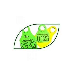 Brinco Identificação Personalizado 25 Unidades - Primaza
