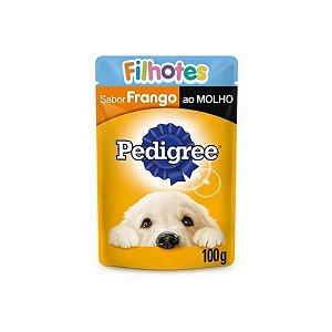 Sachê Pedigree Frango ao Molho para Cães Filhotes