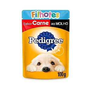 Sachê Pedigree  Carne ao Molho para Cães Filhotes